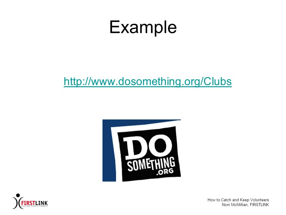 Example http://www.dosomething.org/Clubs