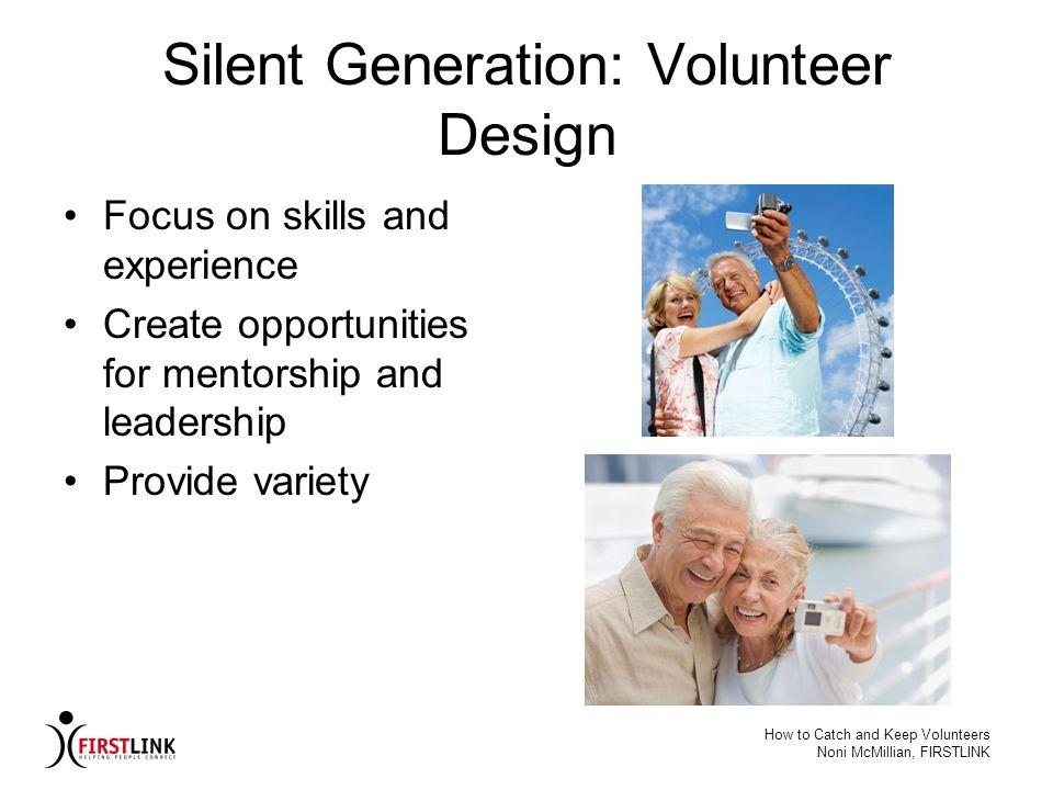 Silent Generation: Volunteer Design