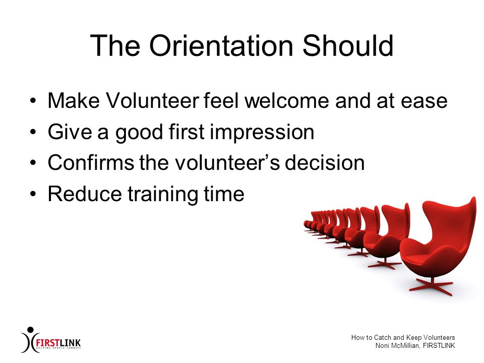 The Orientation Should