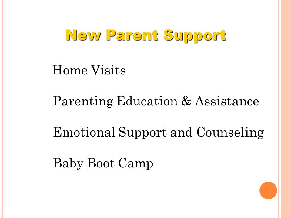 New Parent Support Parenting Education & Assistance