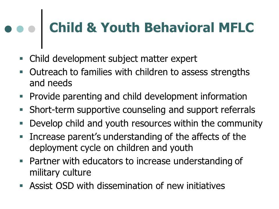 Child & Youth Behavioral MFLC