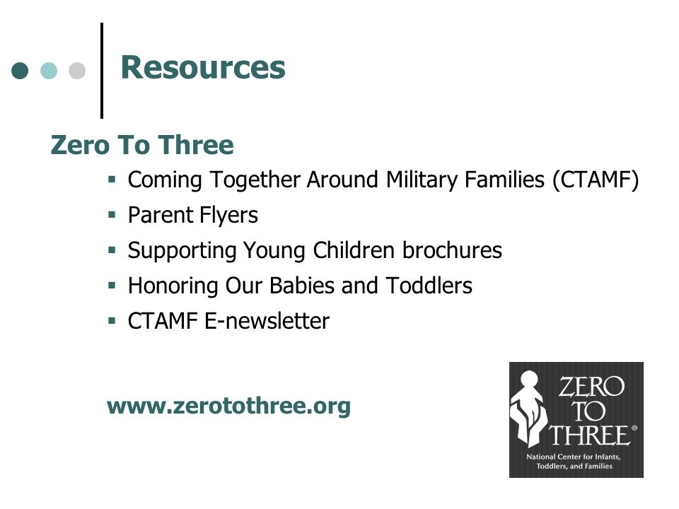 Resources Zero To Three