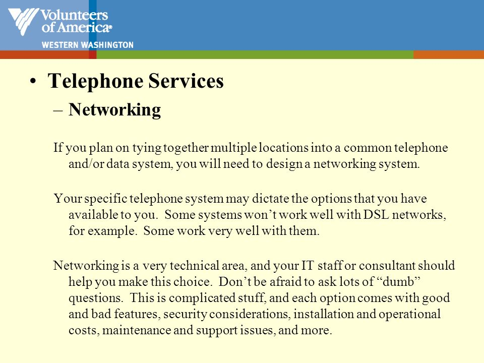 Telephone Services Long Distance Services – Purchasing
