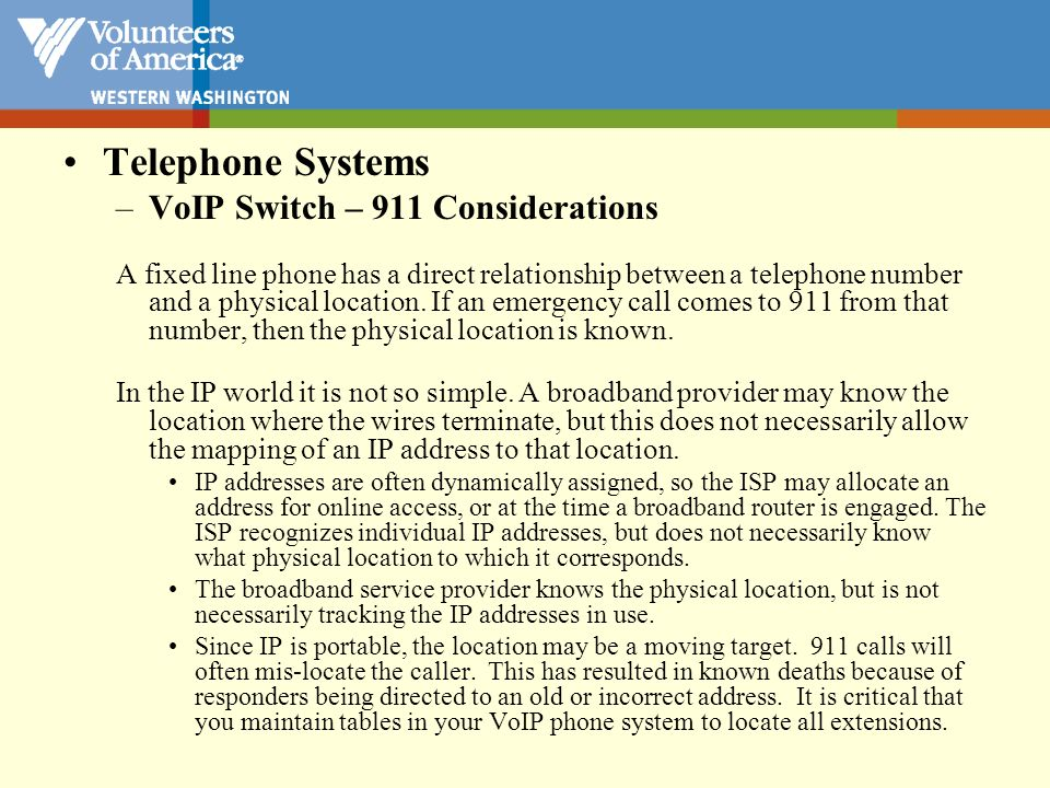 Telephone Systems VoIP Switch – Quality of Service Considerations