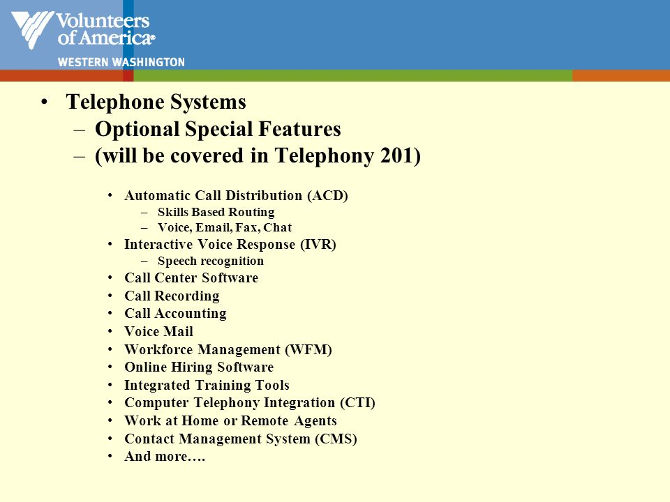Telephone Systems PBX or IP PBX