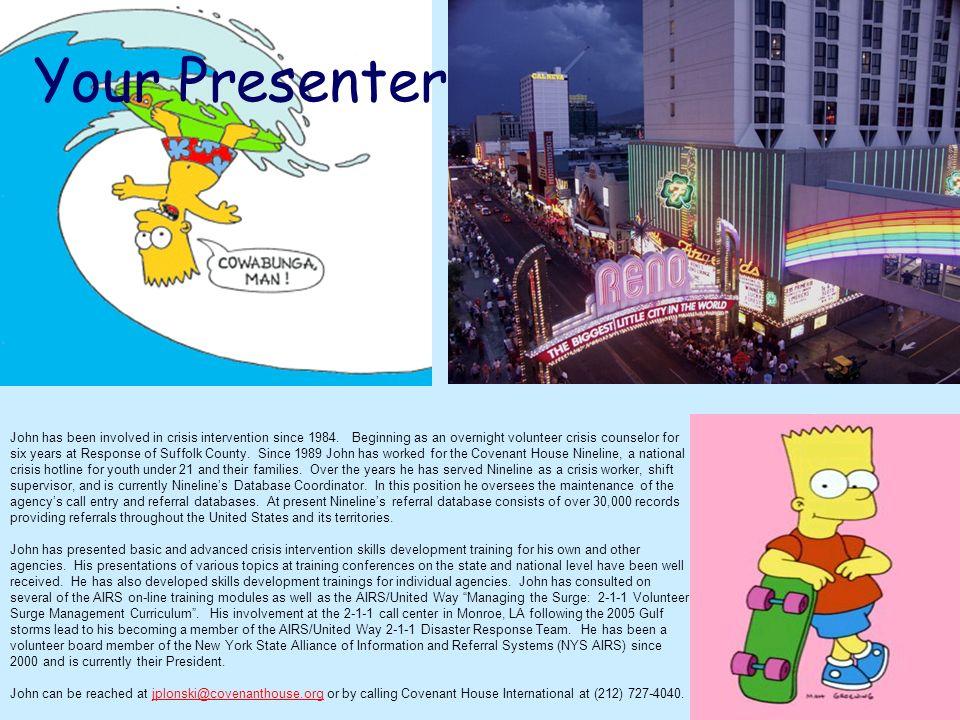 Your Presenter