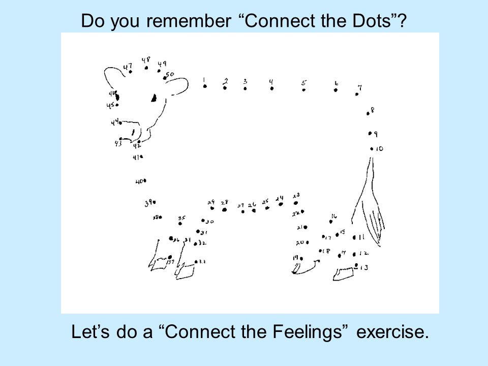 Do you remember Connect the Dots