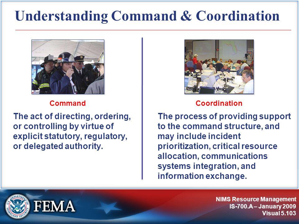 Understanding Command & Coordination