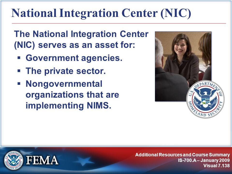 National Integration Center (NIC)