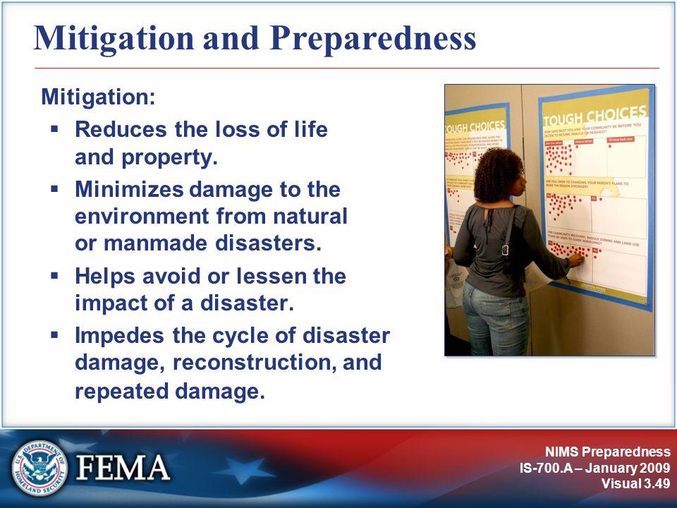 Mitigation and Preparedness