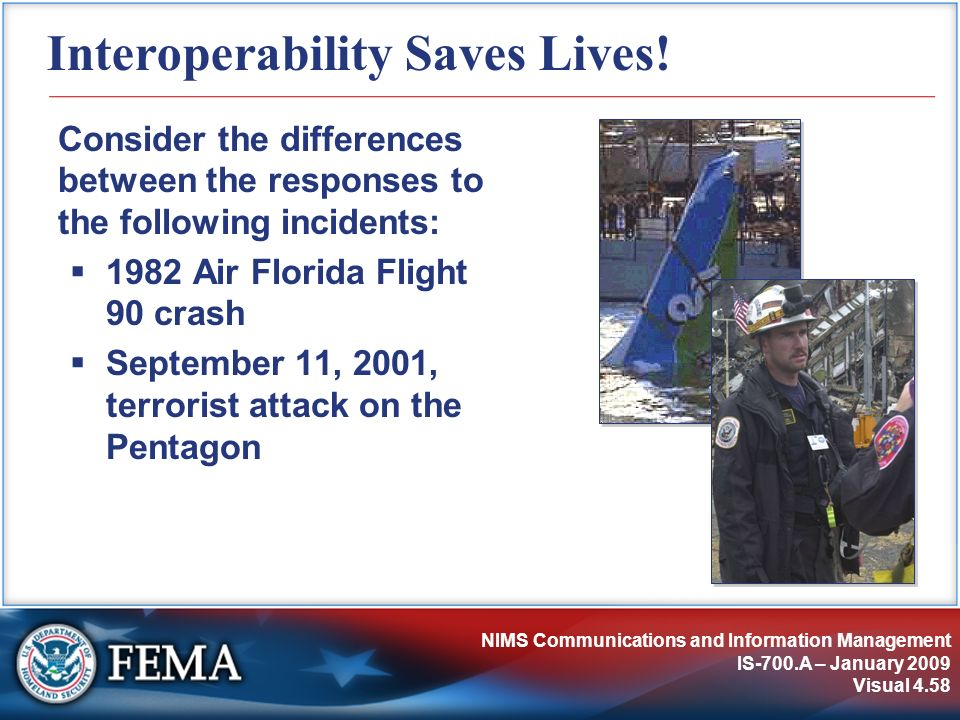 Interoperability Saves Lives!