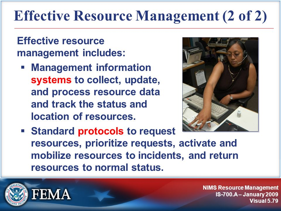 Effective Resource Management (2 of 2)