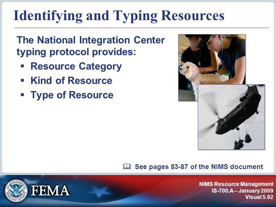 Identifying and Typing Resources