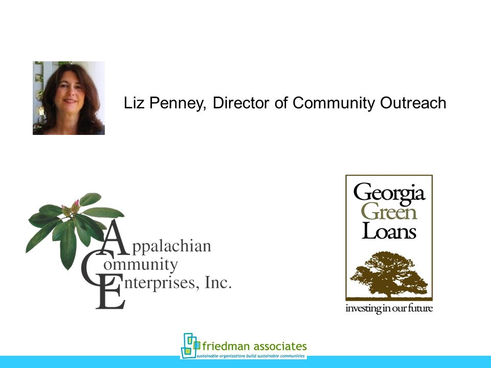 Liz Penney, Director of Community Outreach