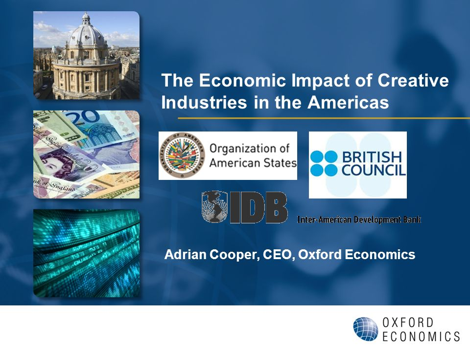 Adrian Cooper, CEO, Oxford Economics