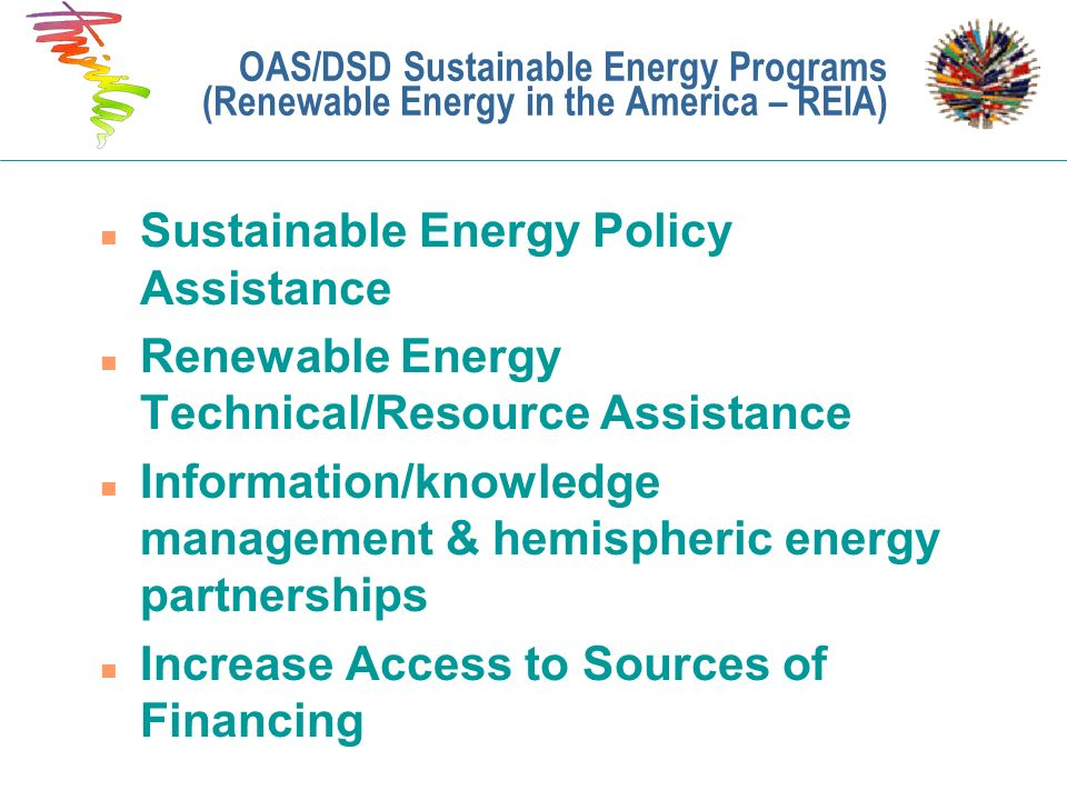 Sustainable Energy Policy Assistance