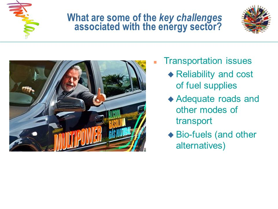 What are some of the key challenges associated with the energy sector