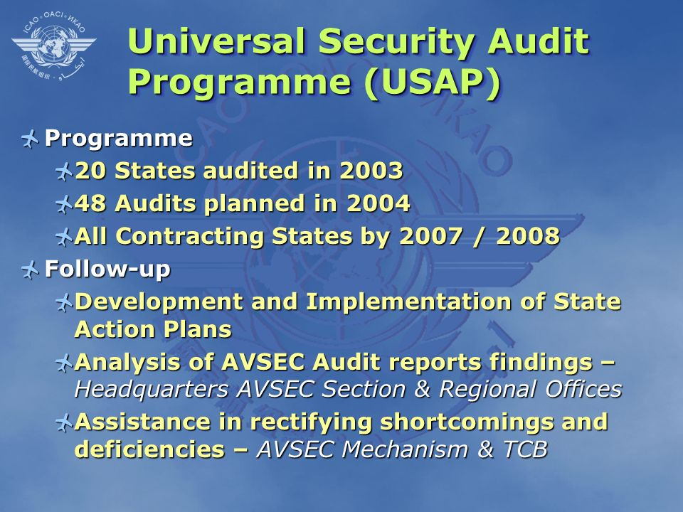 Universal Security Audit Programme (USAP)