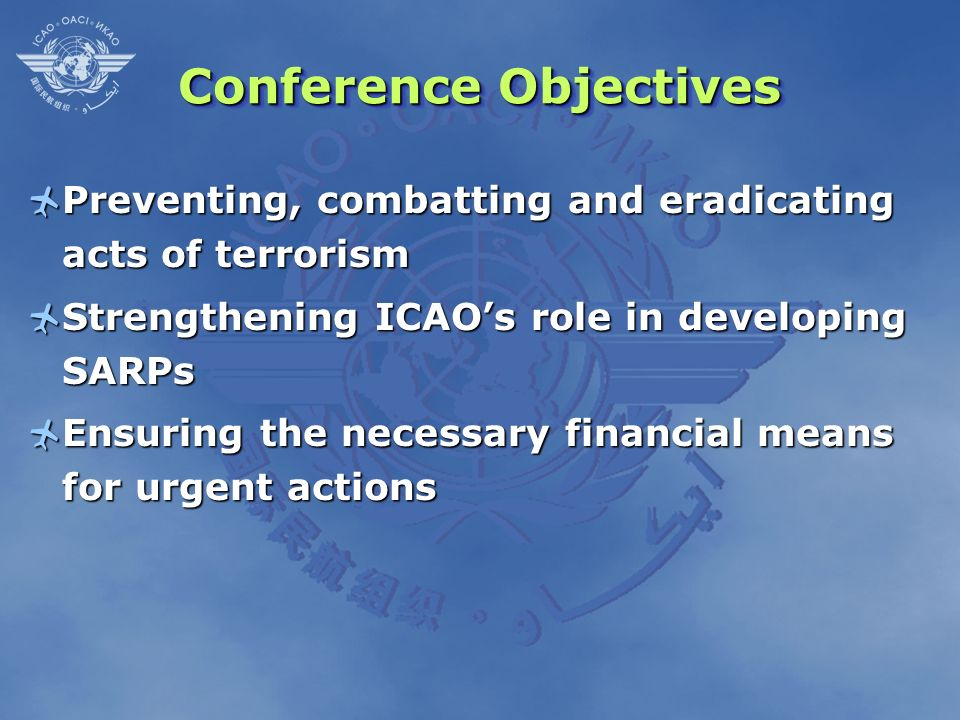Conference Objectives