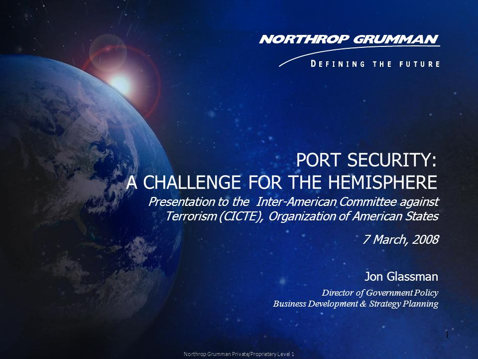 PORT SECURITY: A CHALLENGE FOR THE HEMISPHERE
