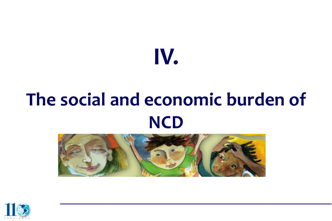 The social and economic burden of NCD