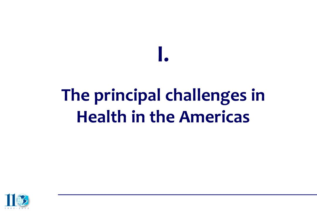 The principal challenges in Health in the Americas
