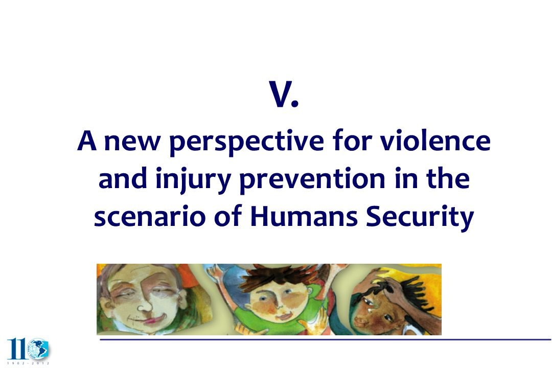 V. A new perspective for violence and injury prevention in the scenario of Humans Security