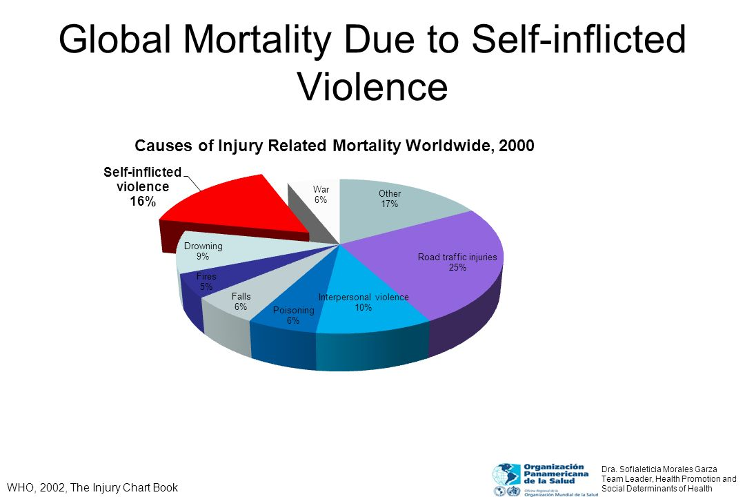 Global Mortality Due to Self-inflicted Violence