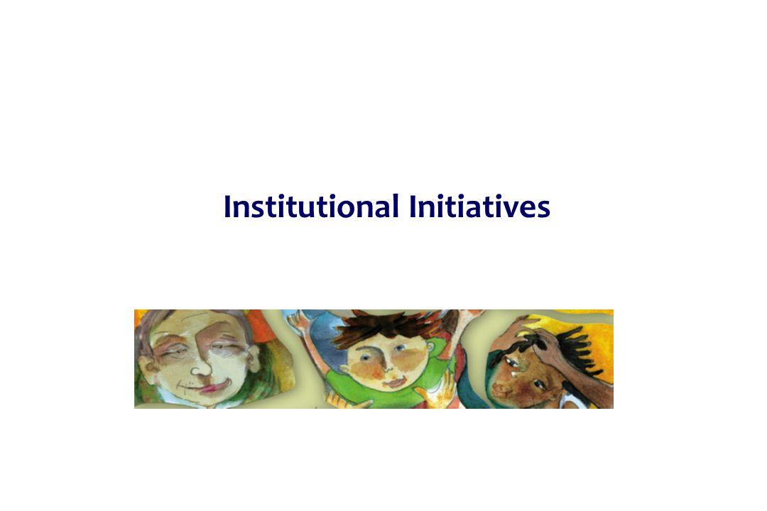 Institutional Initiatives
