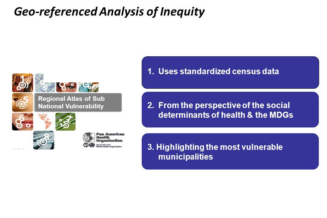 Geo-referenced Analysis of Inequity
