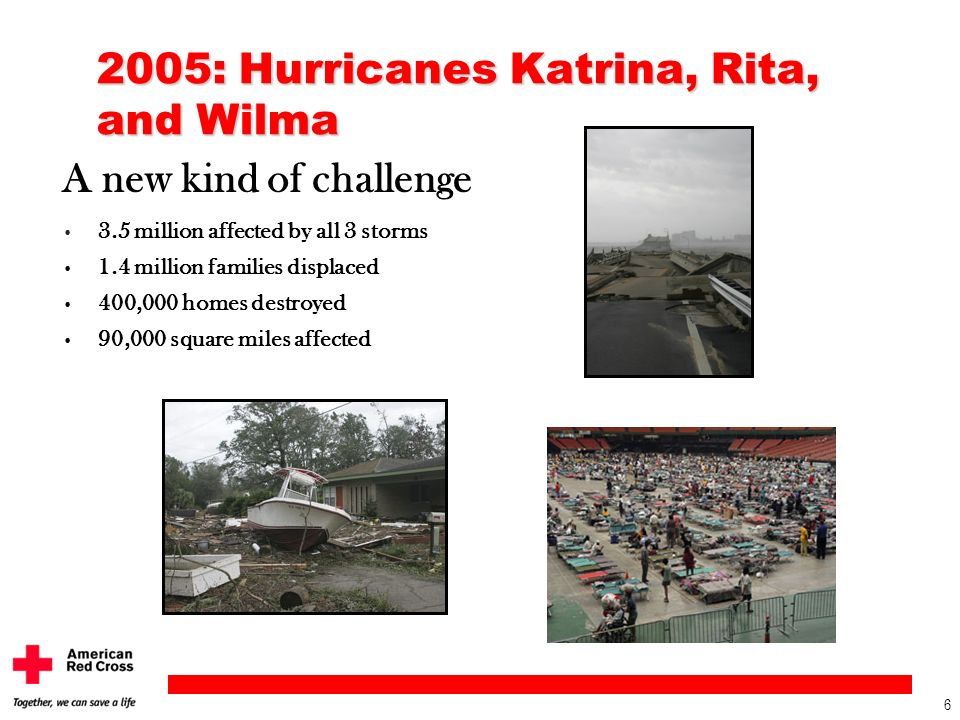 2005: Hurricanes Katrina, Rita, and Wilma