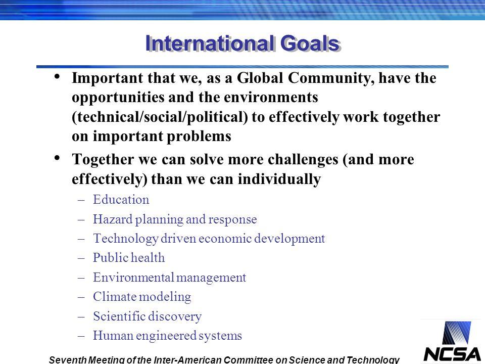 International Goals