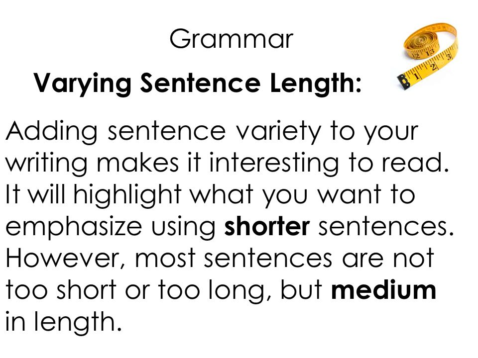 Two Sentence Examples