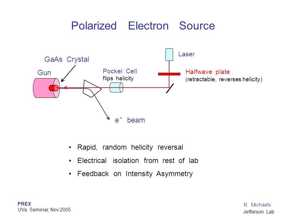 Polarized Electron Source