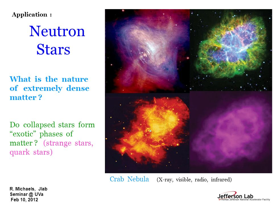 Neutron Stars What is the nature of extremely dense matter