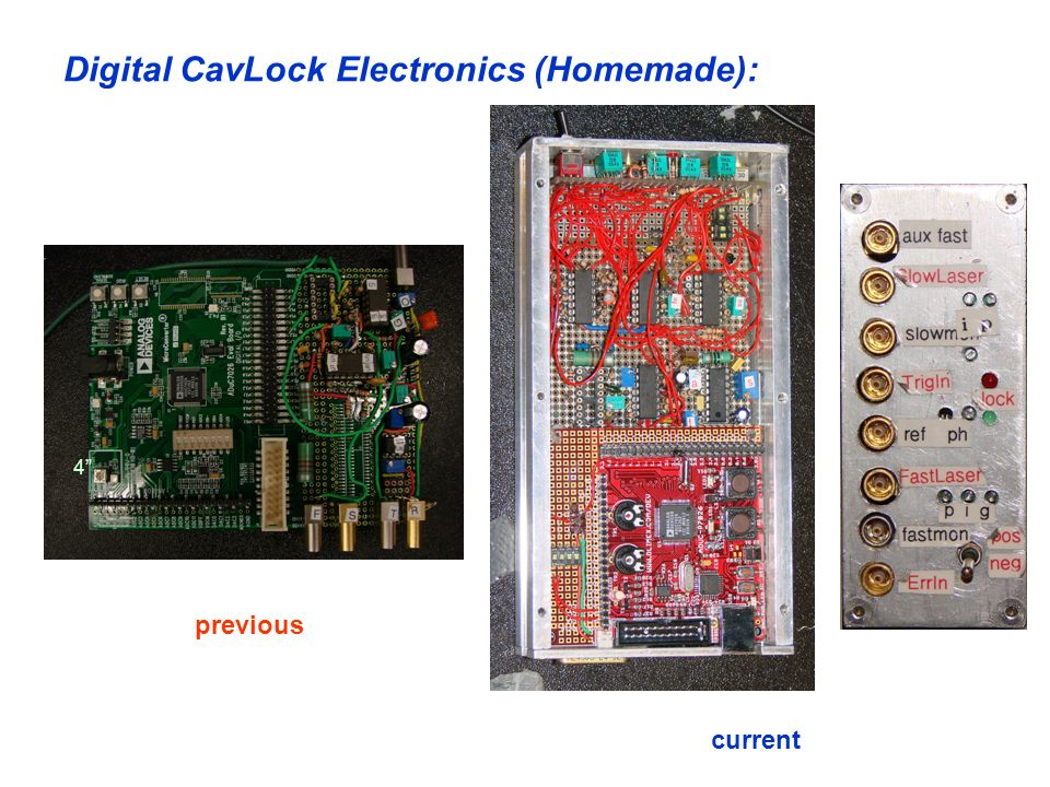 Digital CavLock Electronics (Homemade):