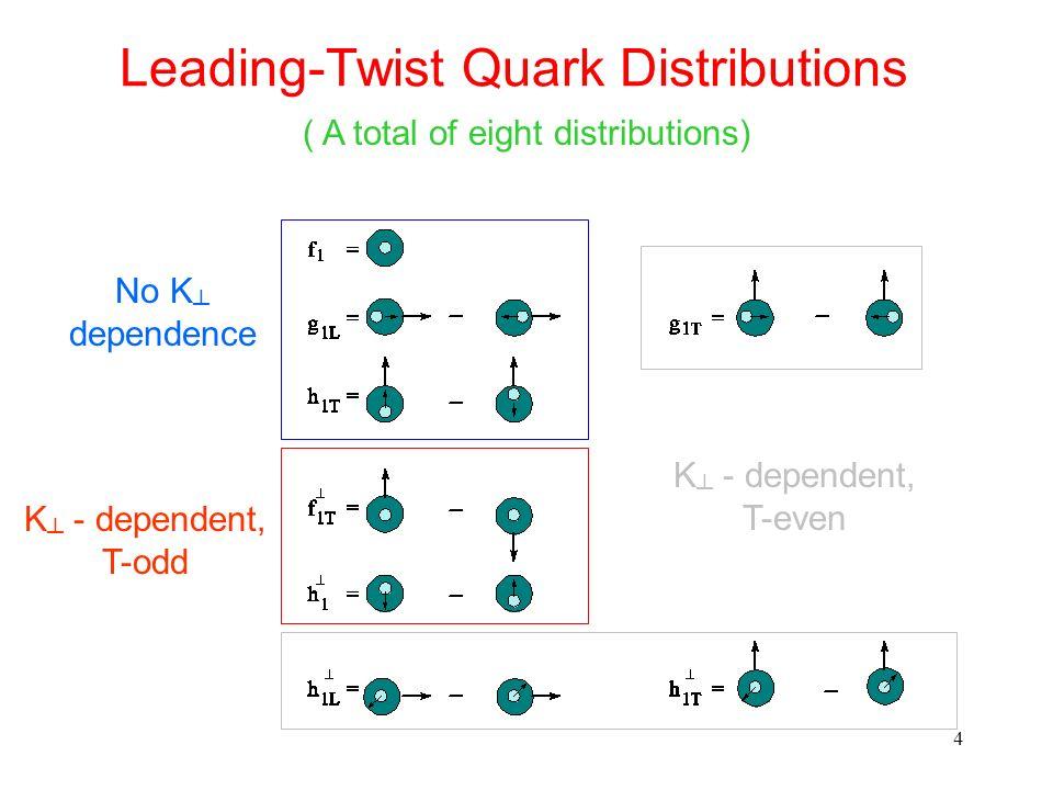 Leading-Twist Quark Distributions