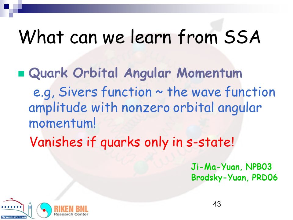 What can we learn from SSA