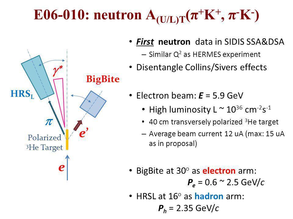 E06-010: neutron A(U/L)T(π+K+, π-K-)