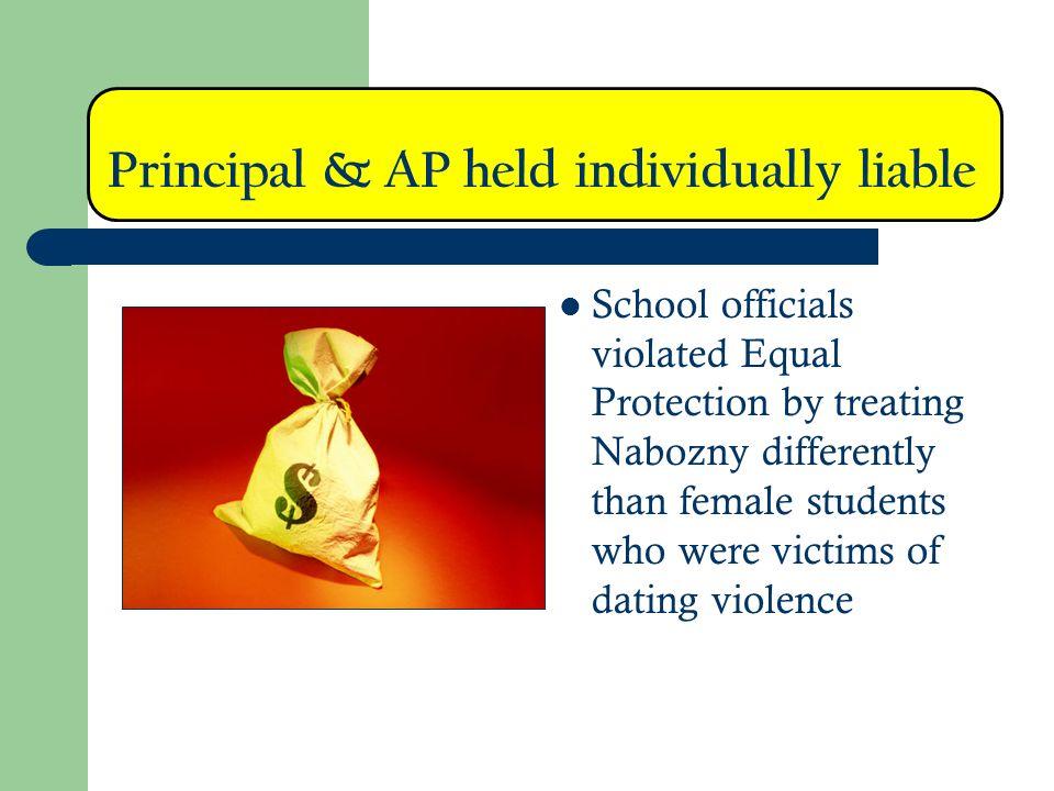 Principal & AP held individually liable