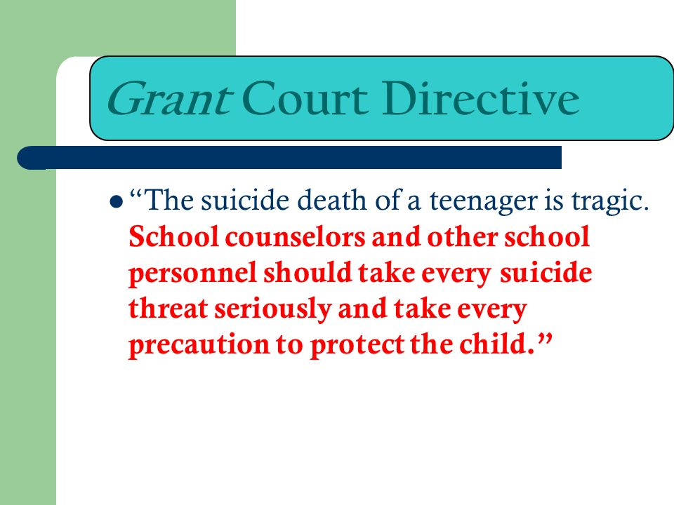 Grant Court Directive