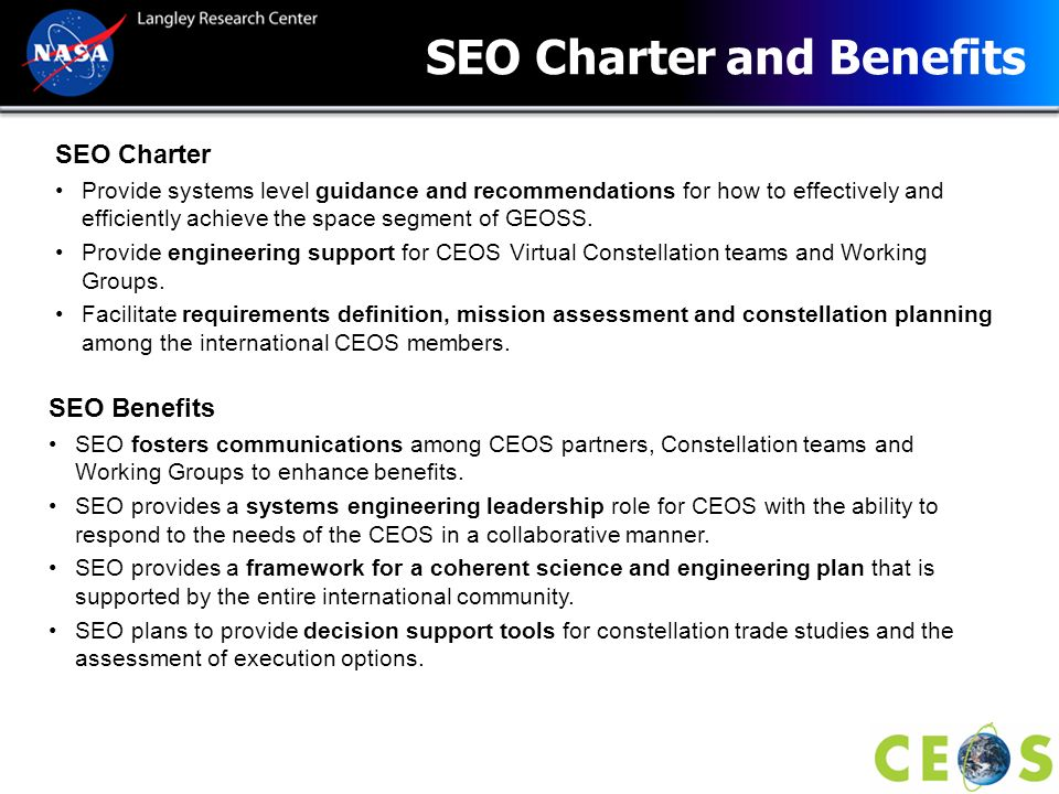 SEO Charter and Benefits