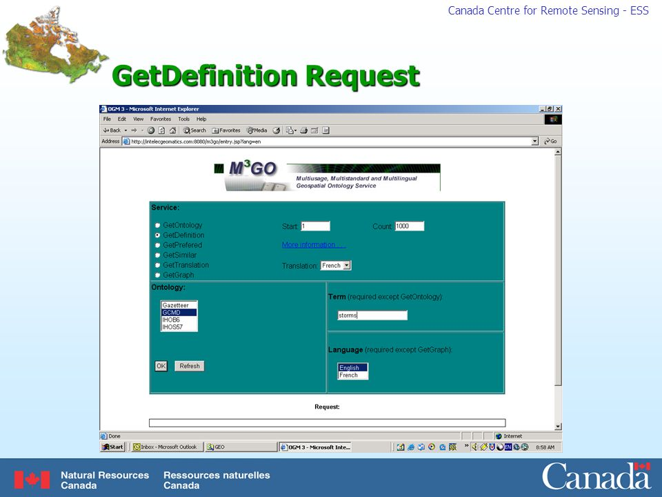 GetDefinition Request