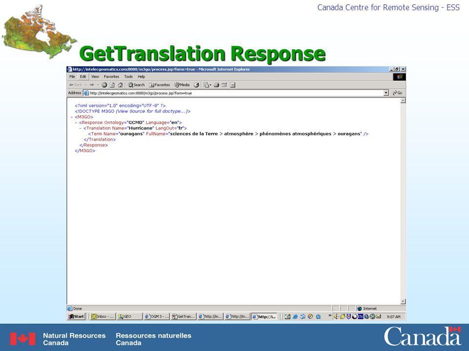 GetTranslation Response