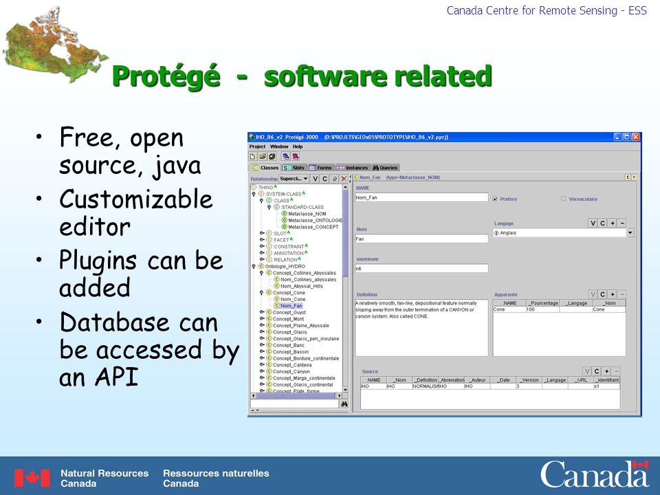 Protégé - software related