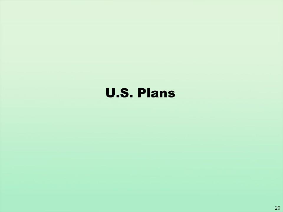 U.S. Plans