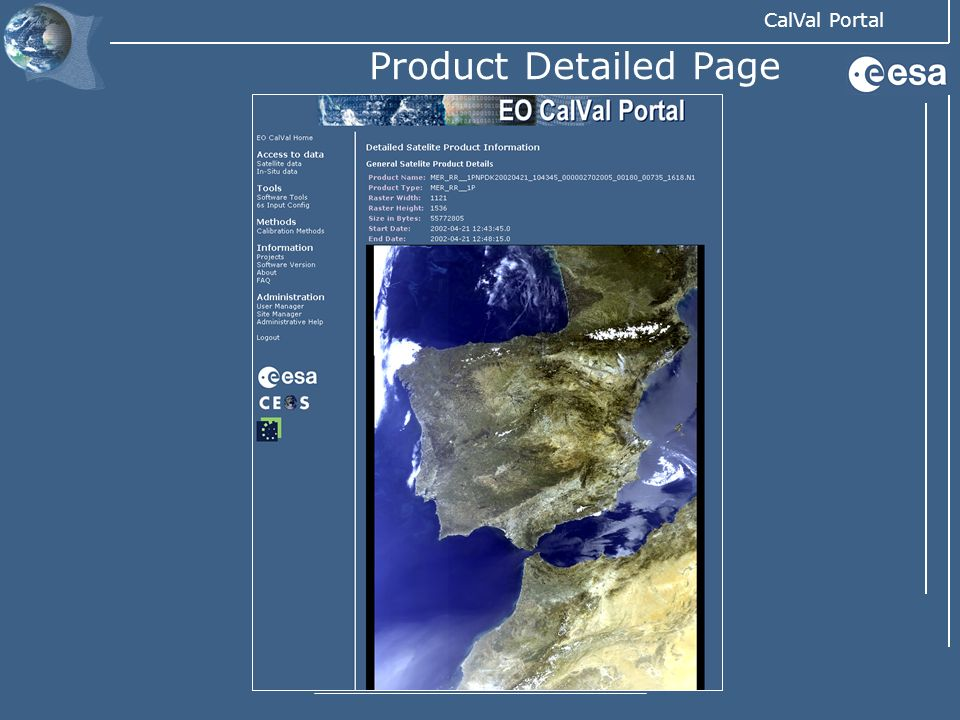 Product Detailed Page