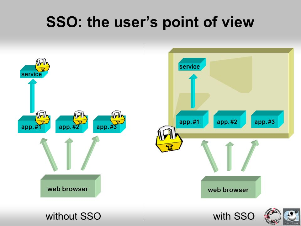 SSO: the user's point of view