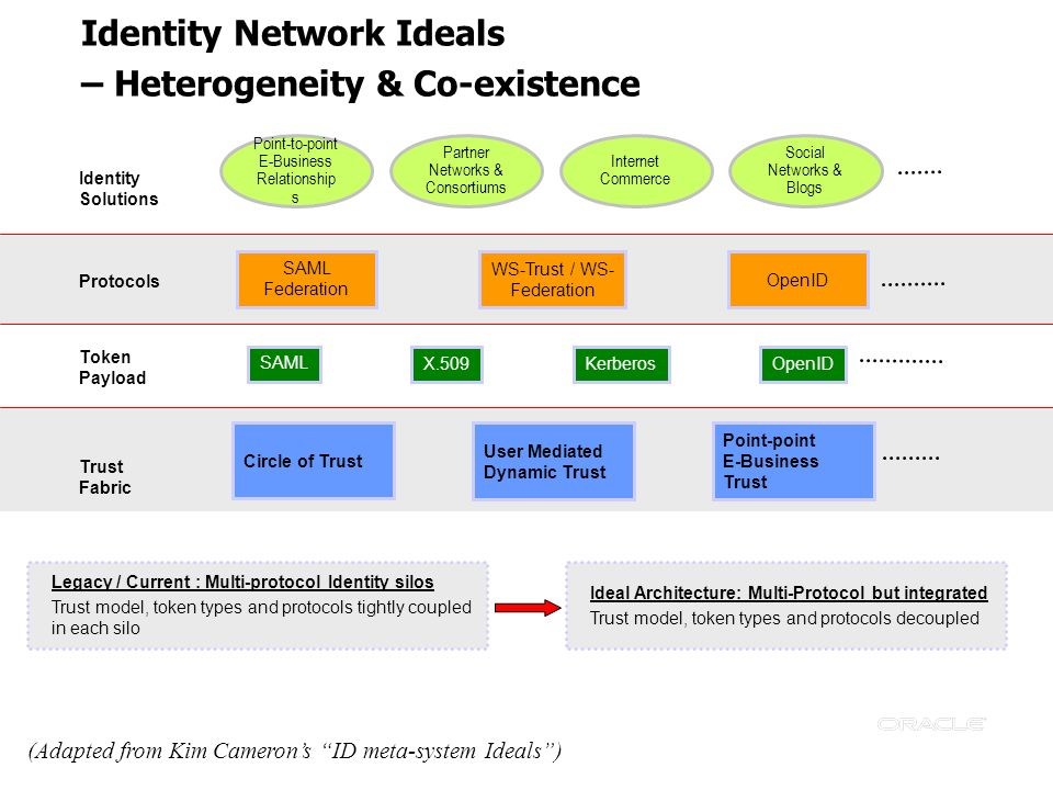 Identity Network Ideals – Heterogeneity & Co-existence