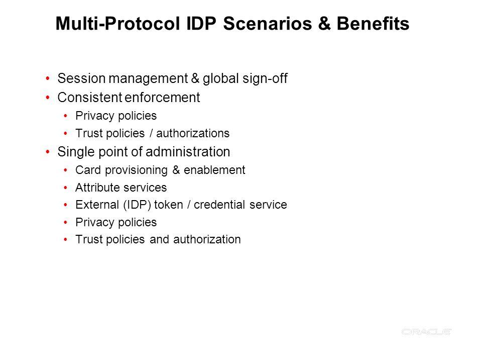Multi-Protocol IDP Scenarios & Benefits